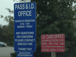 NAS Whiting Field Directory - Pass Tag and ID Card Office